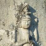 今も残る江戸時代の石仏、三十三箇所巡拝塔